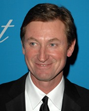 NHL all-time top scorer Wayne Gretzky
