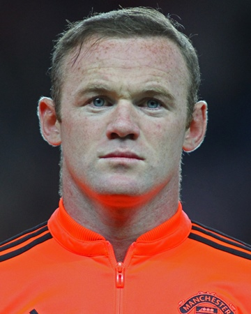 English Footballer Wayne Rooney
