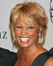 Singer and Actress Whitney Houston