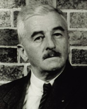 Author and Nobel Laureate William Faulkner