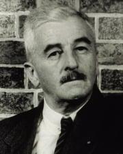 Author and Nobel Laureate William Faulkner