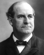 US Politician William Jennings Bryan