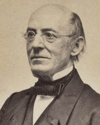 Abolitionist William Lloyd Garrison