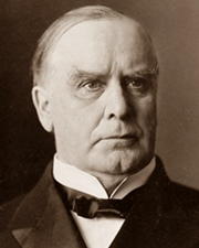 25th US President William McKinley