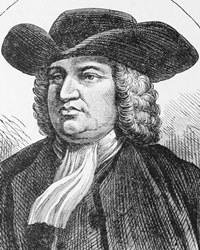 English Philosopher and Founder of Pennsylvania William Penn