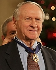 American Political Columnist & Presidential Speechwriter William Safire