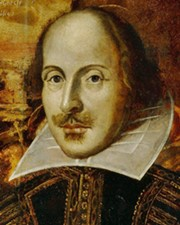 Playwright William Shakespeare