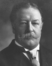 27th US President William Howard Taft