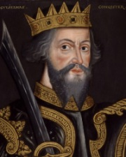 King of England and Duke of Normandy William the Conqueror