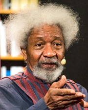 Playwright Wole Soyinka