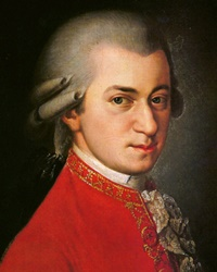 Classical Musician and Composer Wolfang Amadeus Mozart