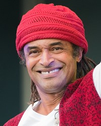 Tennis Player and French Open Champion Yannick Noah