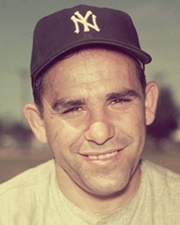 MLB Catcher and Manager Yogi Berra