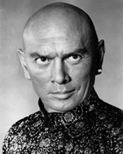 Actor Yul Brynner
