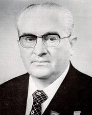 Soviet General Secretary Yuri Andropov