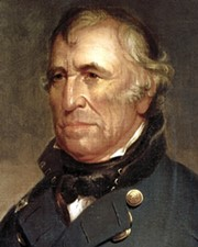 12th US President Zachary Taylor