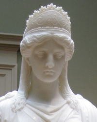 Queen of the Palmyrene Empire in Roman Syria Zenobia
