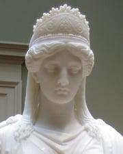Queen of the Palmyrene Empire in Roman Syria Zenobia