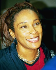 Tennis Player Zina Garrison