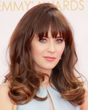 Actress Zooey Deschanel