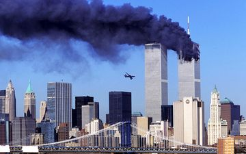 9/11 Attack on New York's World Trade Towers