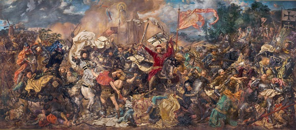 Battle of Grunwald, a painting by Jan Matejko