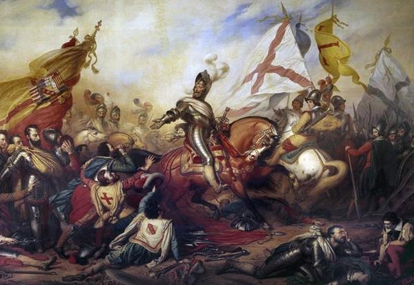 King Henry IV of France at the Battle of Ivry