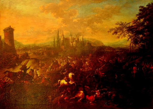 The Battle of Petrovaradin or Peterwardein which saw a decisive victory for the Imperial Army