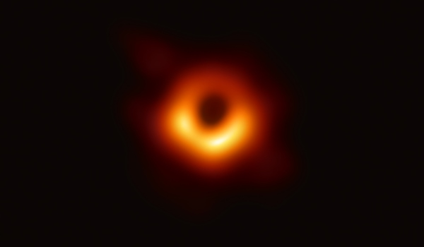 The first ever picture of black hole