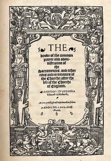 The First Book of Common Prayer