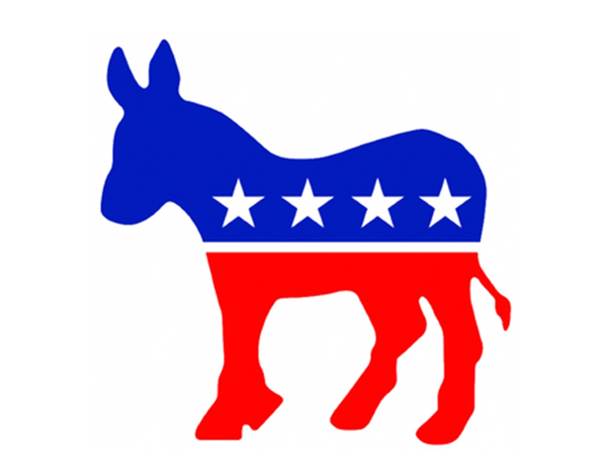 Democratic Party Symbol (Famous Photo) - On This Day