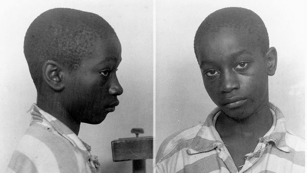 The mug shot of 14-year-old African American boy George Stinney who was the youngest American to be executed