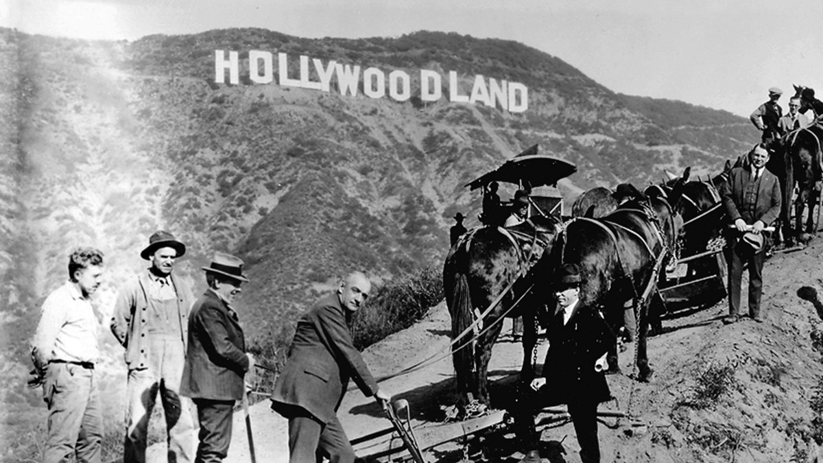 hollywoodland on this day