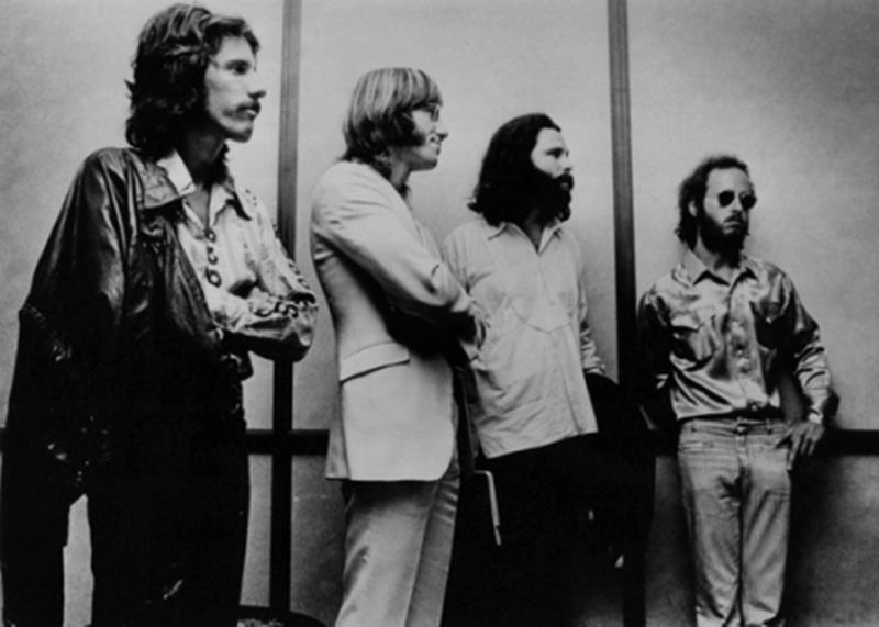 Jim Morrison and The Doors at the Dade County Courthouse