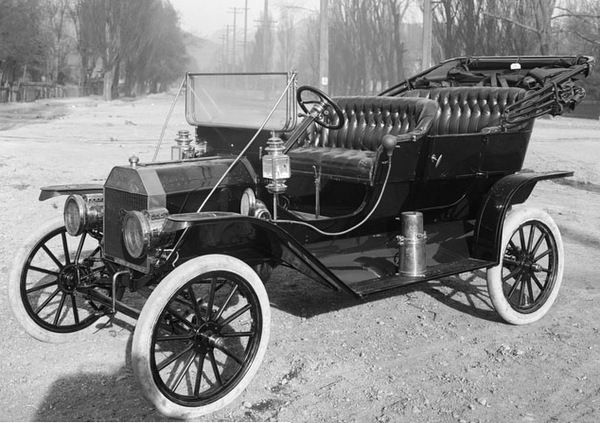 The 1910 Model T Ford