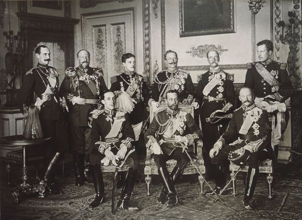 Nine sovereigns of Europe meet at the funeral of Edward VII