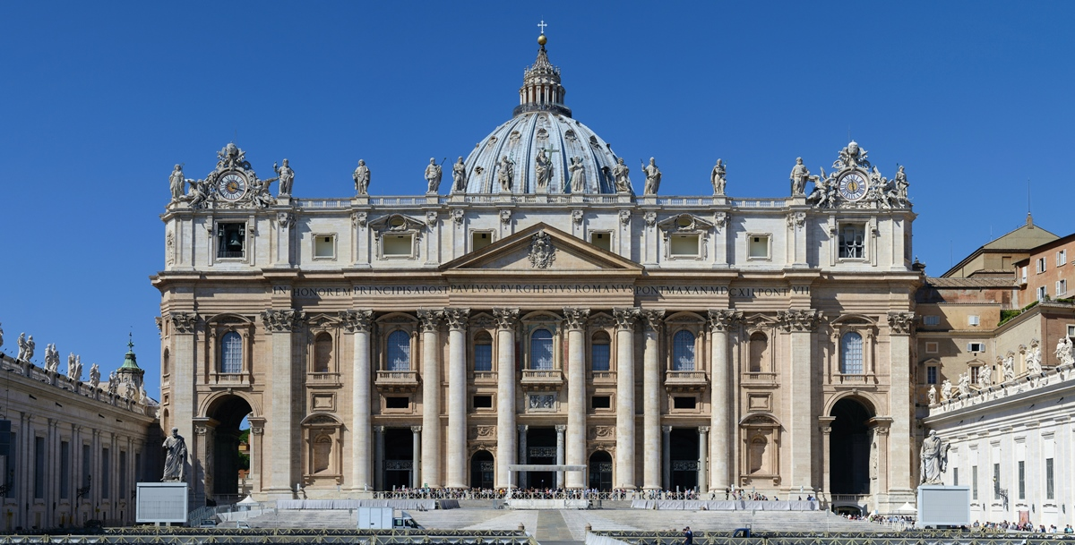 St. Peter's Basilica in the Vatican City, Rome