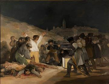 'The Third of May 1808' by Francisco de Goya