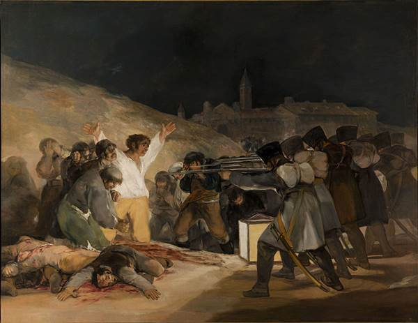 The Third of May 1808, by Francisco de Goya